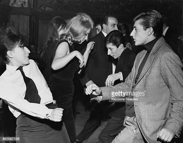 Young people at the Aretusa nightclub in Milan dancing The Twist a new dance craze Italy 29th December 1961