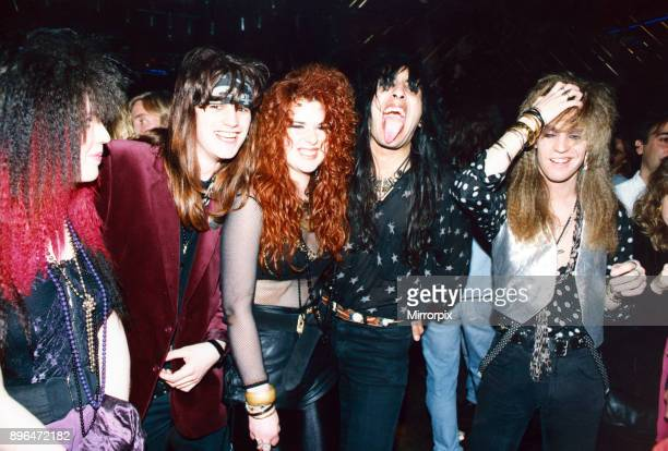 Young people at the Cathouse nightclub, Glasgow, 31st May 1992.