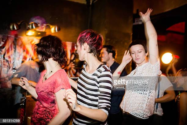 Young People Dancing At Party
