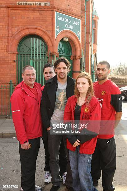 Young people from Salford met with Manchester United star Owen Hargreaves and local band Kid British on Tuesday as music and football came together...