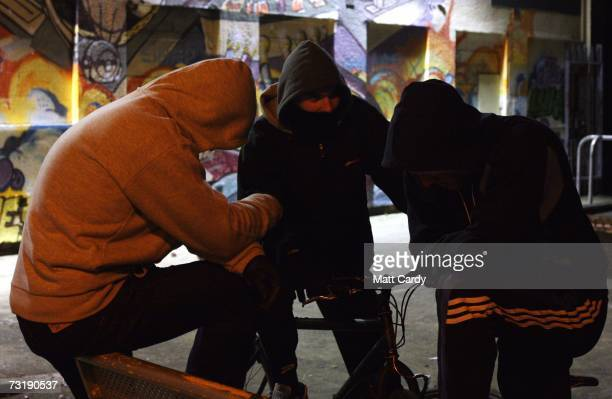 Young people in hooded tops are seen on the Southmead housing estate February 1 Bristol England Bristol City Council is one of 40 local authorities...