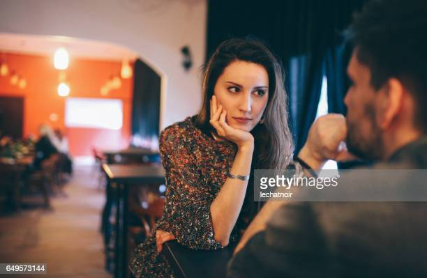 young people in the cafe in belgrade - couples dating stock pictures, royalty-free photos & images