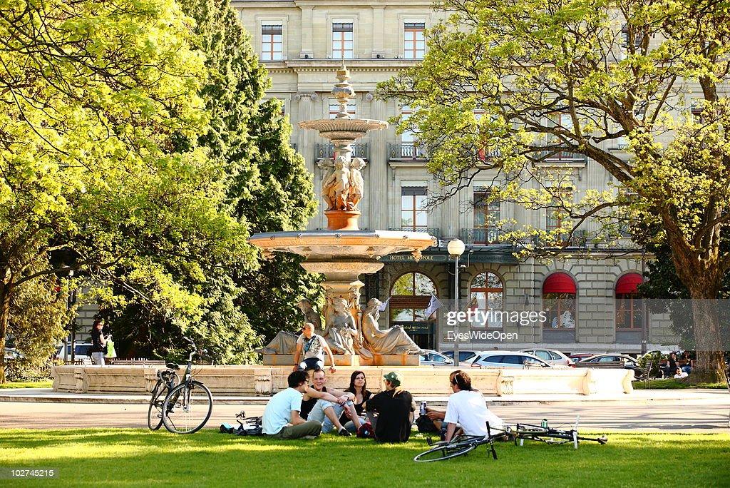Geneva- Places To Visit : News Photo