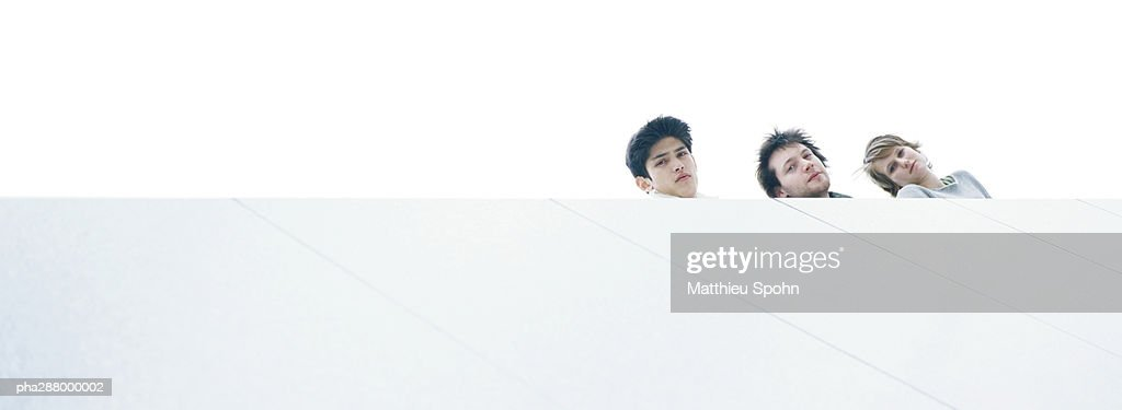 Young people, low angle view : Stockfoto