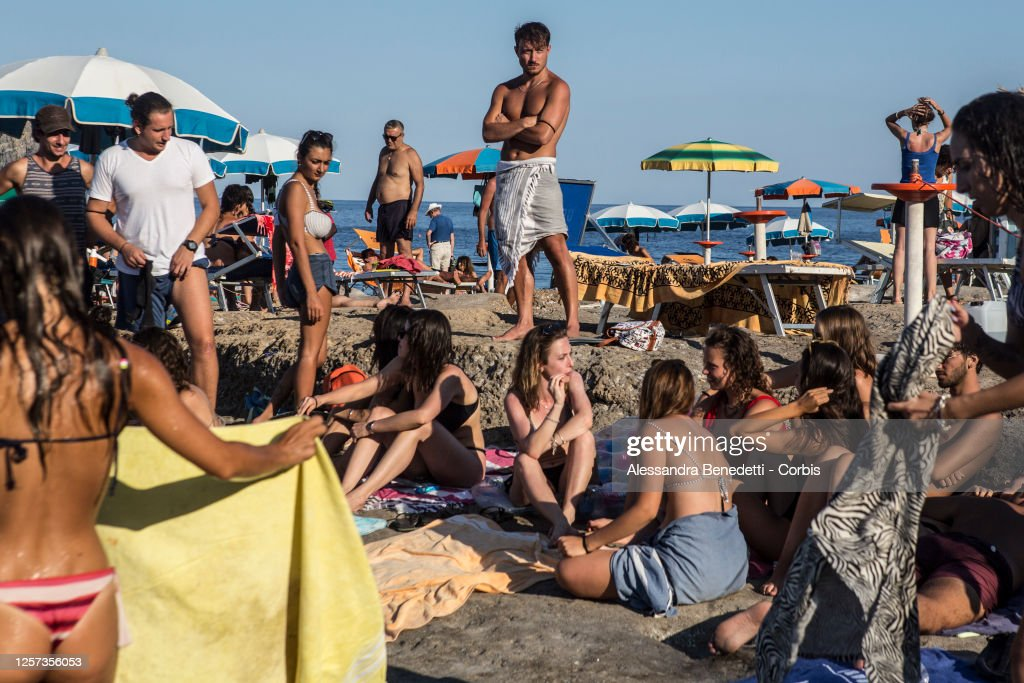 Ventotene Island Dealing With Tourism And Covid-19 : ニュース写真