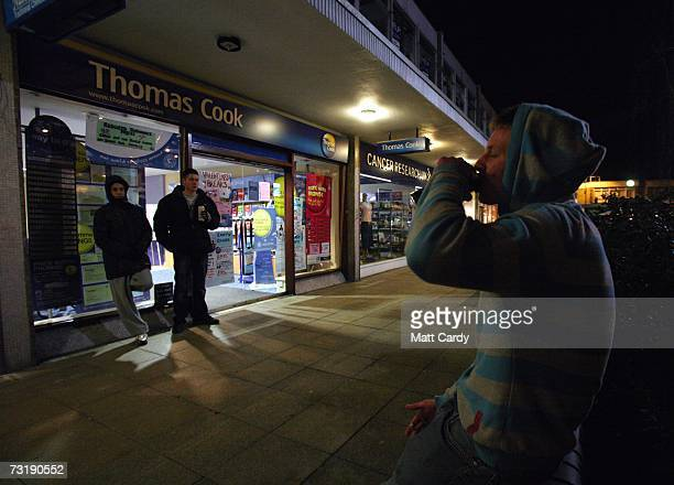 A young person in hooded top drinks from a can on a housing estate east of Bristol city centre February 2 Bristol England Bristol City Council is one...