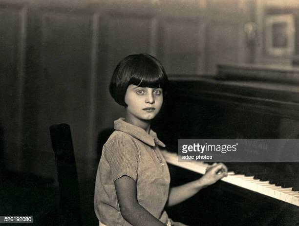 Young pianist Ca 1930