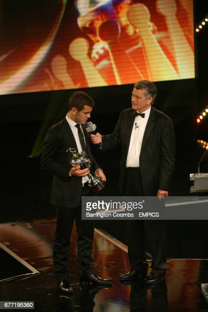 Young Player of the Year Jack Wilshere talks to Sky Sports Presenter George Gavin
