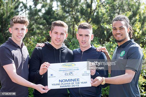 PFA young player of the year nominees Ryan Christie of Inverness Caledonian ThistleSam Nicholson of Heart of MidlothianJamie Walker of Heart of...