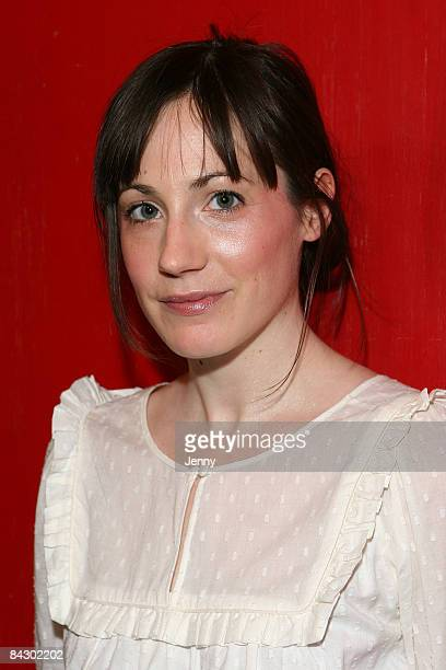 Young Playwright Molly Davies attends the launch of Young Writers Festival held at the Royal Court Jerwood Theatre in Sloane Square on January 15...