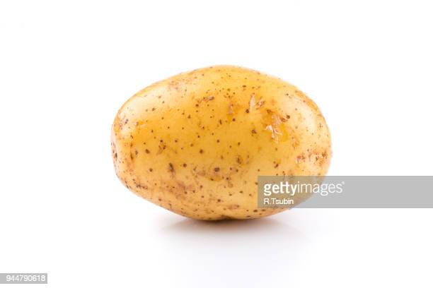 young potato isolated - prepared potato stock pictures, royalty-free photos & images