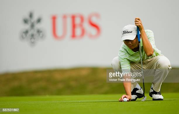 Young professional golfer Jason Hak Shun Yat of Hong Kong during the fourth day of the 50th UBS Hong Kong Open Championship November 23 2008 Photo by...