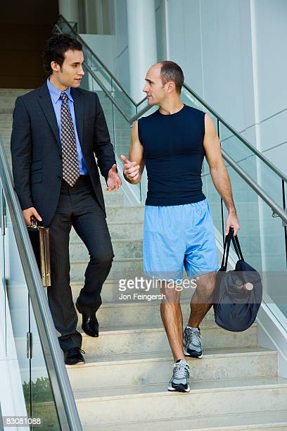 A Young Professional Heading Out To a Gym