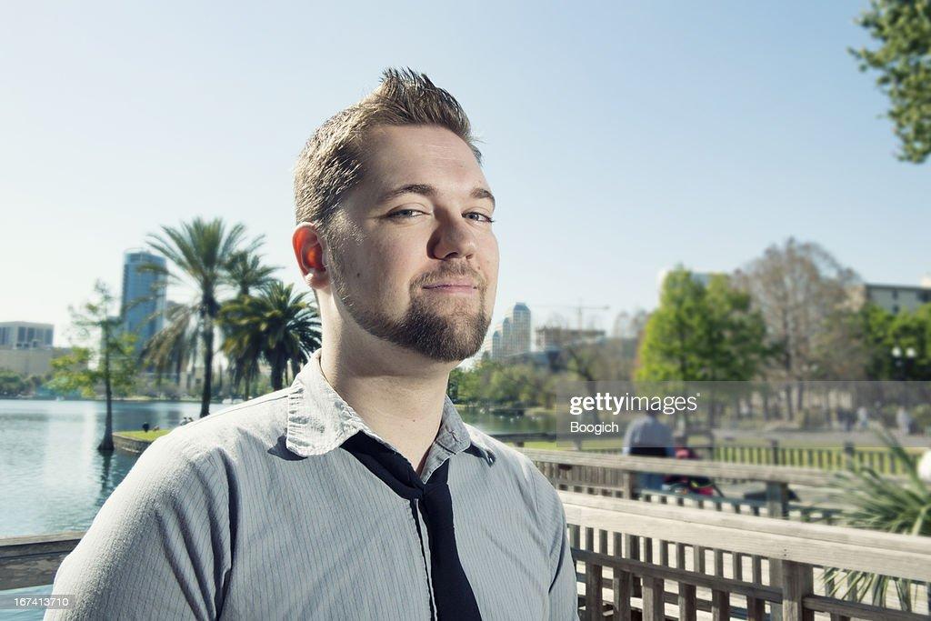 Giovane uomo professionale a Orlando : Foto stock