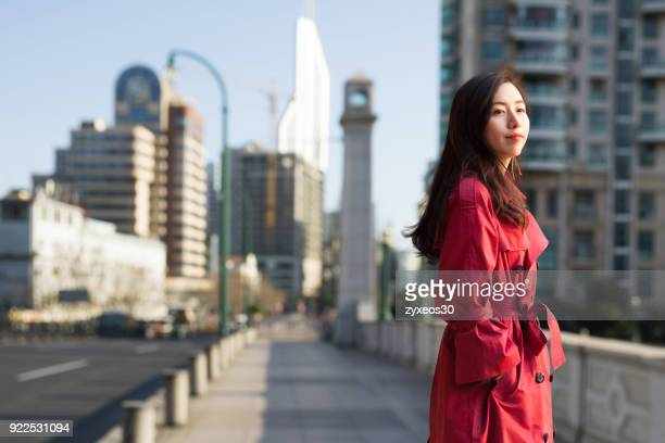 a young professional manager in the shanghai bund,china - east asia. - china east asia stock pictures, royalty-free photos & images