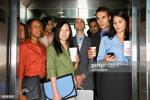 Young Professionals Arriving To Work