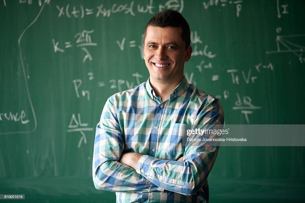 young professor : Stock-Foto
