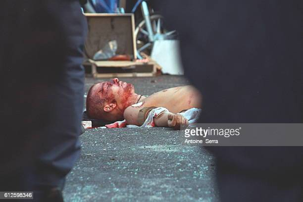 A young protester was shot dead by a member of the carabinieri during the antiglobalization riots which took during the G8 Summit