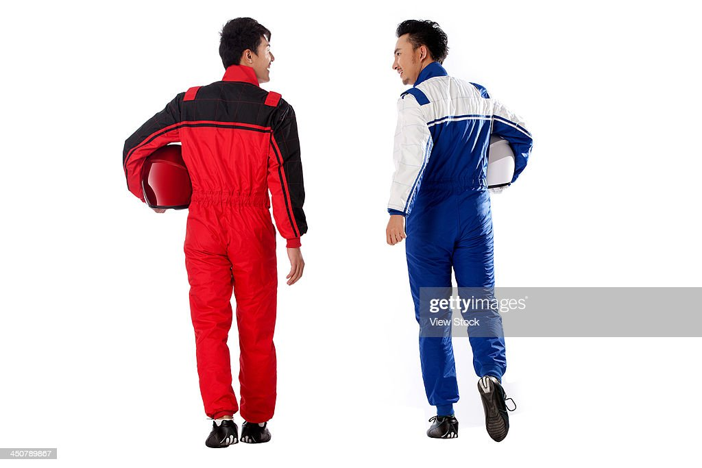 Young race car driver : Stock Photo