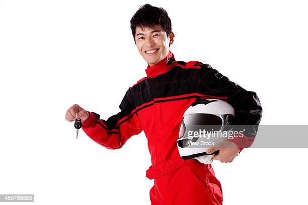 young race car driver - will power race car driver stock pictures, royalty-free photos & images