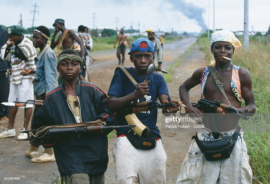 Civil War in Liberia : News Photo