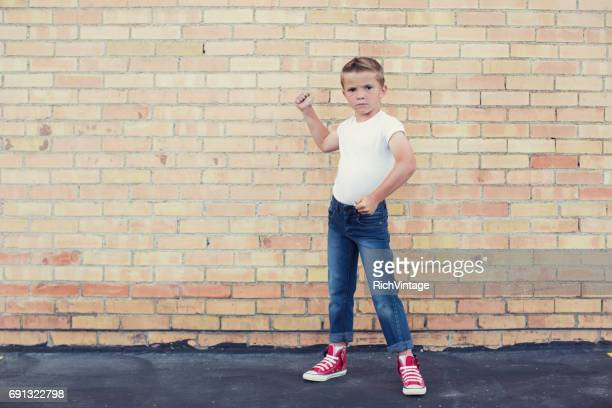 Young Rebellious Bully Boy 50s Style