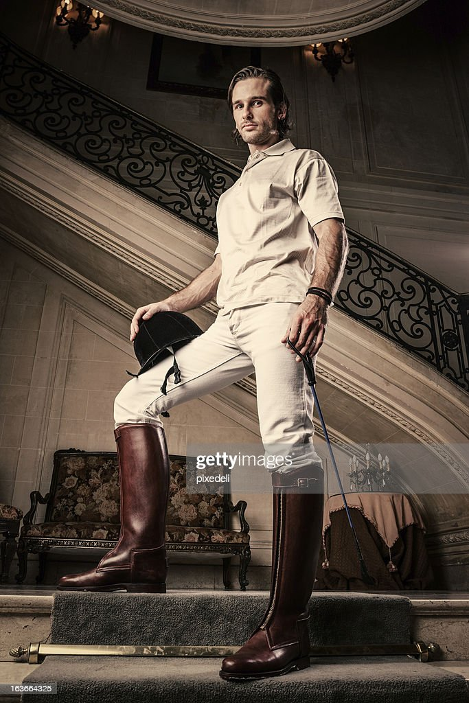 Young rich man : Stock Photo
