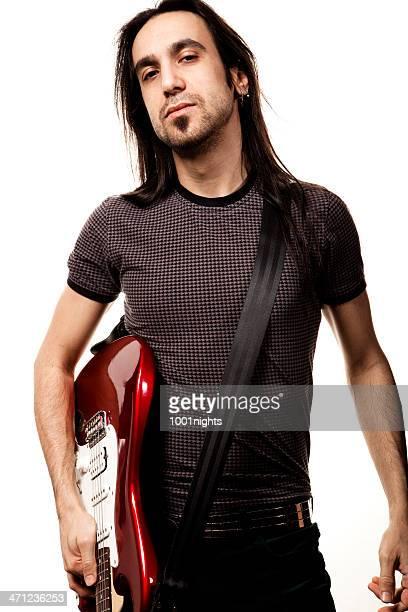 jeune rock star - rock object photos et images de collection