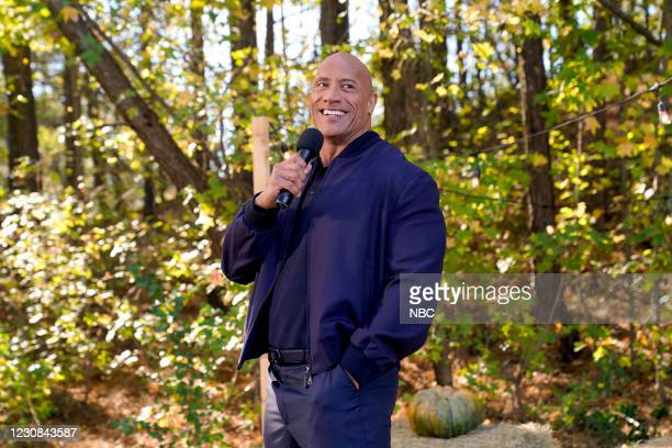 """Young Rock -- """"Working The Gimic"""" Episode 101 -- Pictured: Dwayne Johnson as Himself --"""