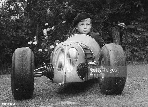 Young Roger Brown is the envy of all the children in Meriden Warwickshire he's Britain's most experienced racing car driver for his age Threeyearold...