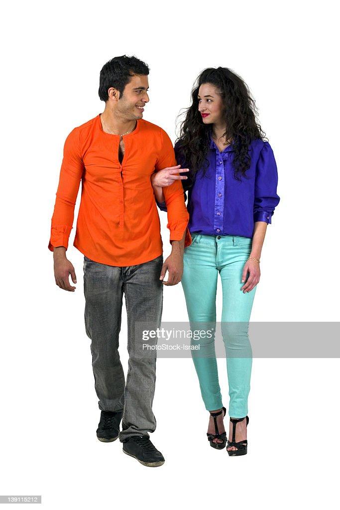 Young romantic couple : Stock Photo