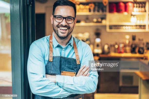 young salesman - da cintura para cima imagens e fotografias de stock
