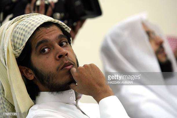 Young Saudi men released from the US Guantanamo Bay detentioncentre as well as prisons in Iraq and Saudi Arabia attend a course at an interior...