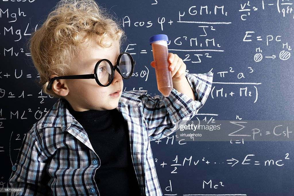 young scientist : Stock Photo