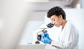 Young Scientist Working in The Laboratory