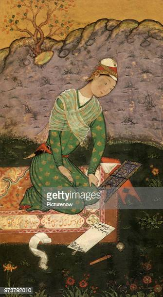 A Young Scribe Ali Mir Sayyid 1550