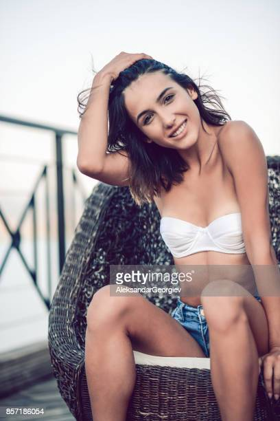 Outstanding Worlds Best Beauty In Nature Woman In Lingerie In A Sensual Ocoug Best Dining Table And Chair Ideas Images Ocougorg