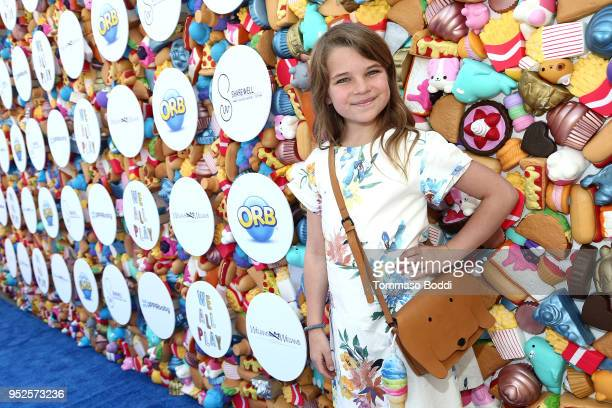Young Sheldon star Raegan Revord attends the 'We All Play' by Sharewell At the Future Home of Cayton Children's Museum on April 28 2018 in Santa...