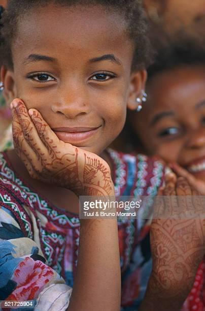 Young Shiddi girl, Karachi, Pakistan
