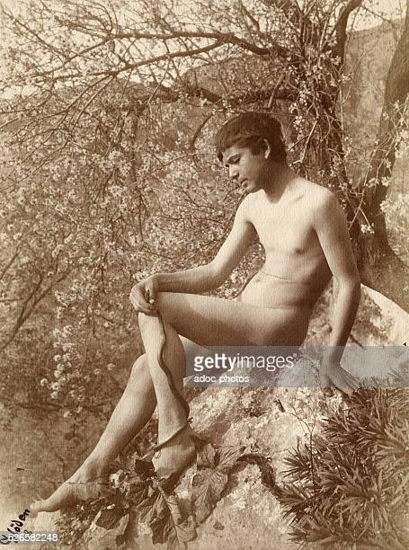 Young Sicilian Boy in Taormina In 1908