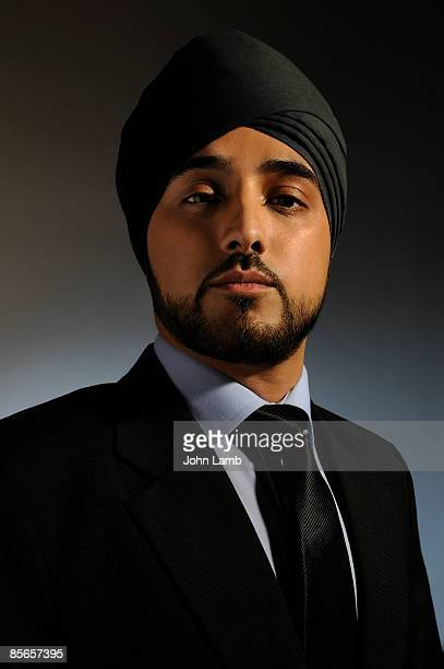 Young Sikh businessman
