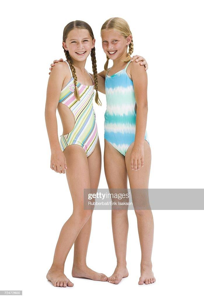 bikinis Boys wearing sisters