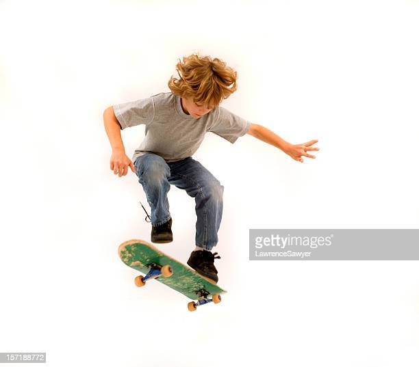 young skateboarder - skating stock pictures, royalty-free photos & images