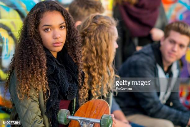 Young Skater Girl
