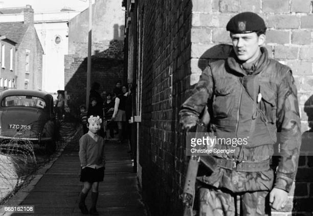 Young Soldier in Belfast