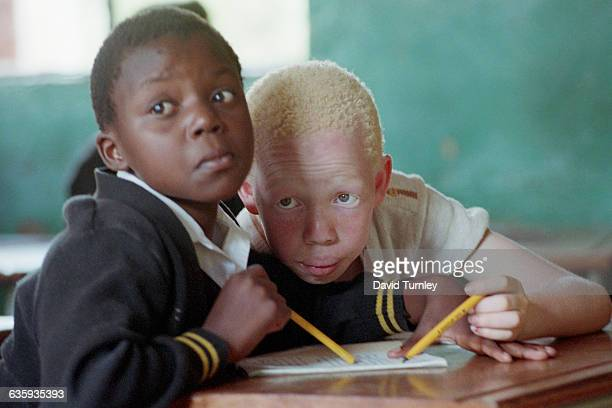 Young South African Boys at School