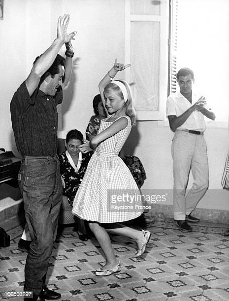 Young Spanish Singer And Actress Pepa Flores Marisol Dancing In 1962.