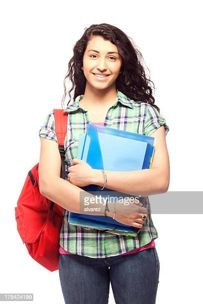 Junger student Frau