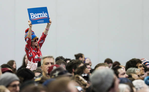 CO: Democratic Presidential Candidate Bernie Sanders Holds Campaign Rally In Denver