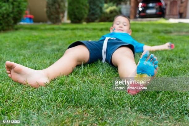 young supporter - only boys stock photos and pictures